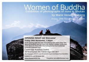 Women of Buddha Flyer